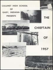 Page 5, 1957 Edition, Calumet High School - Chieftain Yearbook (Gary, IN) online yearbook collection