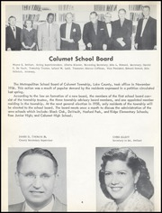 Page 8, 1957 Edition, Calumet High School - Chieftain Yearbook (Gary, IN) online yearbook collection