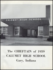 Page 5, 1959 Edition, Calumet High School - Chieftain Yearbook (Gary, IN) online yearbook collection
