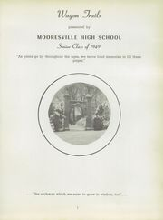 Page 5, 1949 Edition, Mooresville High School - Wagon Trails Yearbook (Mooresville, IN) online yearbook collection