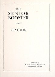 Page 3, 1930 Edition, Emmerich Manual High School - Ivian Yearbook (Indianapolis, IN) online yearbook collection
