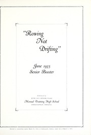 Page 3, 1935 Edition, Emmerich Manual High School - Ivian Yearbook (Indianapolis, IN) online yearbook collection