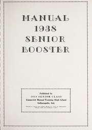 Page 3, 1938 Edition, Emmerich Manual High School - Ivian Yearbook (Indianapolis, IN) online yearbook collection