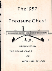 Page 5, 1957 Edition, Avon High School - Treasure Chest Yearbook (Danville, IN) online yearbook collection