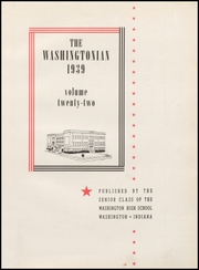 Page 7, 1939 Edition, Washington High School - Washingtonian Yearbook (Washington, IN) online yearbook collection