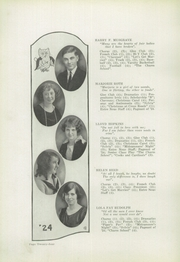 Boonville High School - Entre Nous Yearbook (Boonville, IN) online yearbook collection, 1924 Edition, Page 28