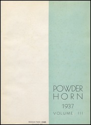Page 5, 1937 Edition, George Rogers Clark High School - Powder Horn Yearbook (Whiting, IN) online yearbook collection