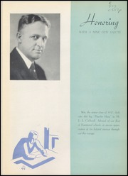 Page 9, 1937 Edition, George Rogers Clark High School - Powder Horn Yearbook (Whiting, IN) online yearbook collection