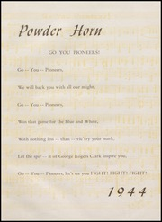 Page 5, 1944 Edition, George Rogers Clark High School - Powder Horn Yearbook (Whiting, IN) online yearbook collection