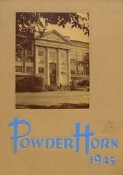 1945 Edition, George Rogers Clark High School - Powder Horn Yearbook (Whiting, IN)
