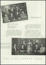 Page 14, 1948 Edition, George Rogers Clark High School - Powder Horn Yearbook (Whiting, IN) online yearbook collection