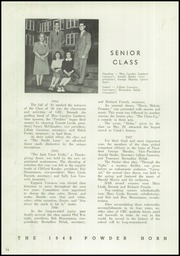 Page 18, 1948 Edition, George Rogers Clark High School - Powder Horn Yearbook (Whiting, IN) online yearbook collection