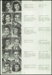 Page 26, 1948 Edition, George Rogers Clark High School - Powder Horn Yearbook (Whiting, IN) online yearbook collection