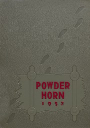 George Rogers Clark High School - Powder Horn Yearbook (Whiting, IN) online yearbook collection, 1952 Edition, Page 1