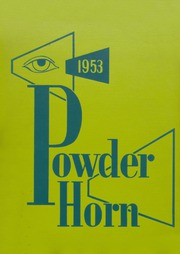 Page 1, 1953 Edition, George Rogers Clark High School - Powder Horn Yearbook (Whiting, IN) online yearbook collection