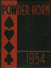 George Rogers Clark High School - Powder Horn Yearbook (Whiting, IN) online yearbook collection, 1954 Edition, Page 1