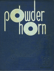 George Rogers Clark High School - Powder Horn Yearbook (Whiting, IN) online yearbook collection, 1955 Edition, Page 1