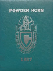 George Rogers Clark High School - Powder Horn Yearbook (Whiting, IN) online yearbook collection, 1957 Edition, Page 1