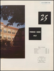 Page 9, 1957 Edition, George Rogers Clark High School - Powder Horn Yearbook (Whiting, IN) online yearbook collection
