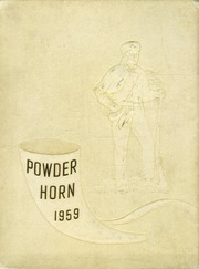George Rogers Clark High School - Powder Horn Yearbook (Whiting, IN) online yearbook collection, 1959 Edition, Page 1
