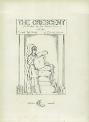 Page 7, 1929 Edition, Elwood Community High School - Crescent Yearbook (Elwood, IN) online yearbook collection
