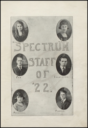 Page 15, 1922 Edition, Alexandria Monroe High School - Spectrum Yearbook (Alexandria, IN) online yearbook collection