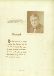 Page 11, 1926 Edition, Alexandria Monroe High School - Spectrum Yearbook (Alexandria, IN) online yearbook collection