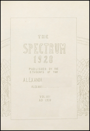 Page 15, 1928 Edition, Alexandria Monroe High School - Spectrum Yearbook (Alexandria, IN) online yearbook collection