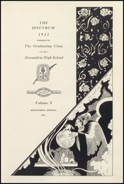 Page 13, 1931 Edition, Alexandria Monroe High School - Spectrum Yearbook (Alexandria, IN) online yearbook collection
