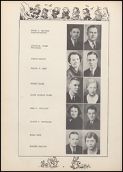 Page 12, 1938 Edition, Alexandria Monroe High School - Spectrum Yearbook (Alexandria, IN) online yearbook collection