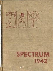 Page 1, 1942 Edition, Alexandria Monroe High School - Spectrum Yearbook (Alexandria, IN) online yearbook collection