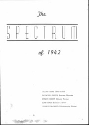 Page 2, 1942 Edition, Alexandria Monroe High School - Spectrum Yearbook (Alexandria, IN) online yearbook collection