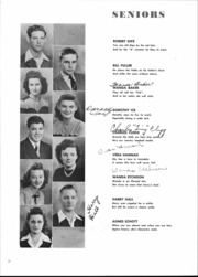 Page 12, 1946 Edition, Alexandria Monroe High School - Spectrum Yearbook (Alexandria, IN) online yearbook collection