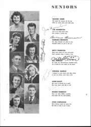 Page 14, 1946 Edition, Alexandria Monroe High School - Spectrum Yearbook (Alexandria, IN) online yearbook collection