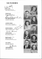 Page 17, 1946 Edition, Alexandria Monroe High School - Spectrum Yearbook (Alexandria, IN) online yearbook collection
