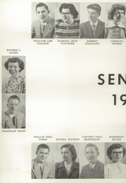 Page 14, 1951 Edition, Alexandria Monroe High School - Spectrum Yearbook (Alexandria, IN) online yearbook collection