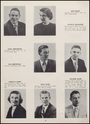 Page 12, 1953 Edition, Alexandria Monroe High School - Spectrum Yearbook (Alexandria, IN) online yearbook collection