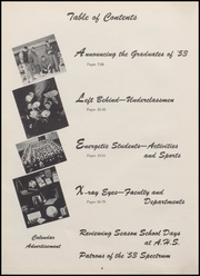 Page 8, 1953 Edition, Alexandria Monroe High School - Spectrum Yearbook (Alexandria, IN) online yearbook collection