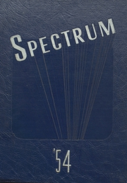 Page 1, 1954 Edition, Alexandria Monroe High School - Spectrum Yearbook (Alexandria, IN) online yearbook collection