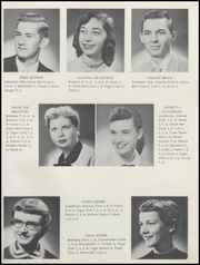 Page 13, 1956 Edition, Alexandria Monroe High School - Spectrum Yearbook (Alexandria, IN) online yearbook collection