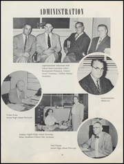Page 9, 1956 Edition, Alexandria Monroe High School - Spectrum Yearbook (Alexandria, IN) online yearbook collection