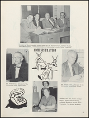 Page 9, 1957 Edition, Alexandria Monroe High School - Spectrum Yearbook (Alexandria, IN) online yearbook collection