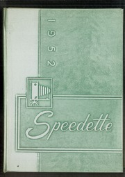 Page 1, 1952 Edition, Speedway High School - Speedette Yearbook (Speedway, IN) online yearbook collection