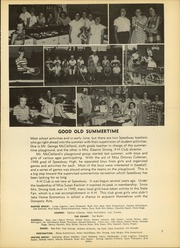 Page 9, 1952 Edition, Speedway High School - Speedette Yearbook (Speedway, IN) online yearbook collection