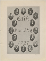 Page 9, 1927 Edition, Greensburg High School - Tower Tree Yearbook (Greensburg, IN) online yearbook collection