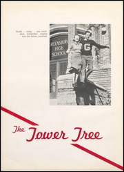 Page 8, 1937 Edition, Greensburg High School - Tower Tree Yearbook (Greensburg, IN) online yearbook collection