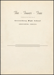 Page 3, 1942 Edition, Greensburg High School - Tower Tree Yearbook (Greensburg, IN) online yearbook collection