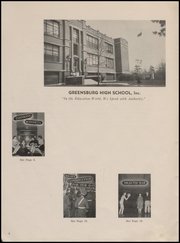 Page 8, 1945 Edition, Greensburg High School - Tower Tree Yearbook (Greensburg, IN) online yearbook collection