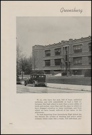 Page 10, 1947 Edition, Greensburg High School - Tower Tree Yearbook (Greensburg, IN) online yearbook collection