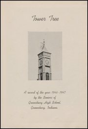 Page 7, 1947 Edition, Greensburg High School - Tower Tree Yearbook (Greensburg, IN) online yearbook collection